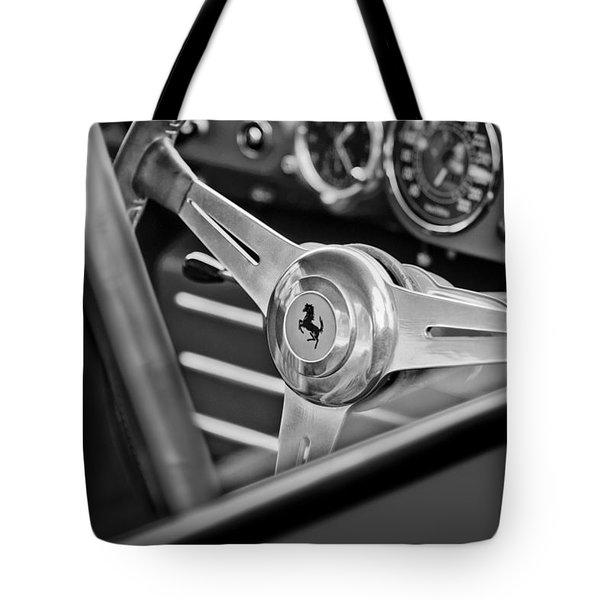 Ferrari Steering Wheel Tote Bag by Jill Reger