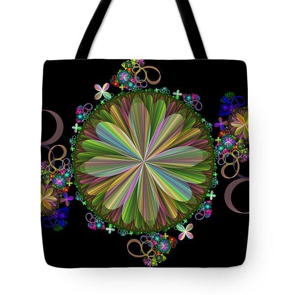 Flowers Tote Bag by Sandy Keeton