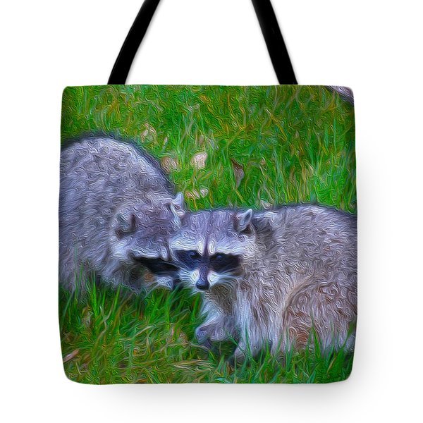 2 Friends Tote Bag by Cheryl Young