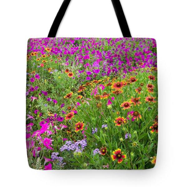 Garden Delight Tote Bag by Lynn Bauer