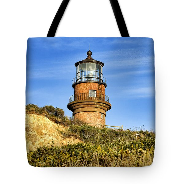 Gay Head Lighthouse Tote Bag by John Greim