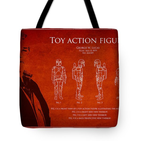 George Lucas Patent 1979 Tote Bag by Aged Pixel