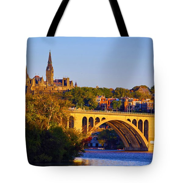 Georgetown Tote Bag by Mitch Cat