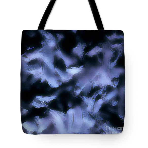 Ghost Fingers Tote Bag by Menega Sabidussi