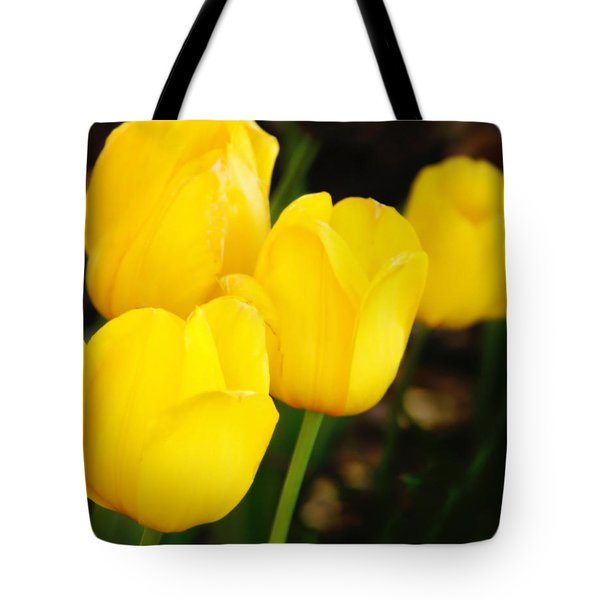 Golden Cups Tote Bag by Joan Bertucci