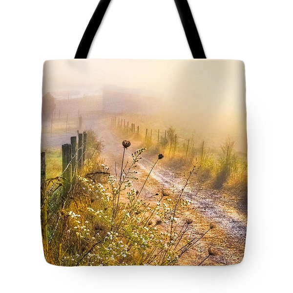 Good Morning Farm Tote Bag by Debra and Dave Vanderlaan