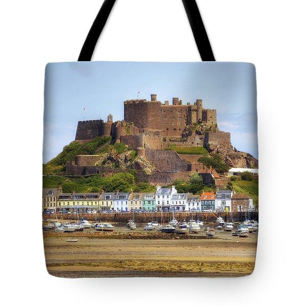 Gorey Castle - Jersey Tote Bag by Joana Kruse