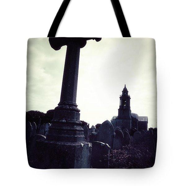 graveyard Tote Bag by Joana Kruse