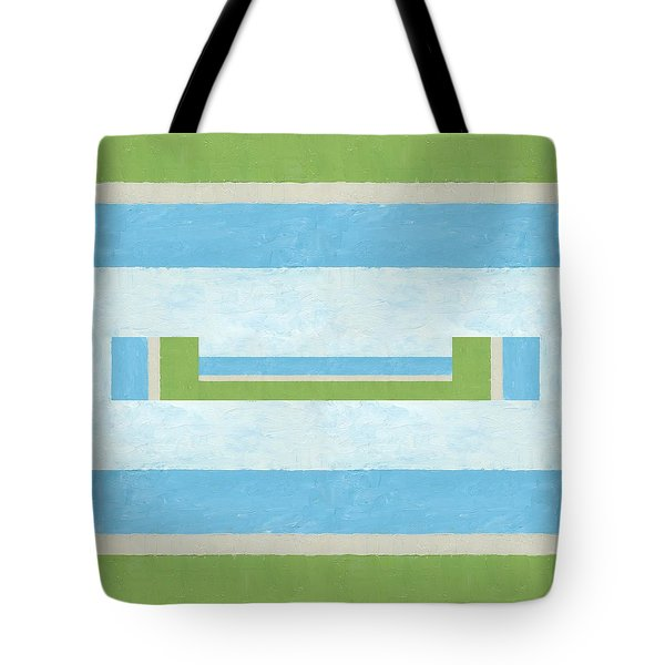 Half Full Tote Bag by Michelle Calkins