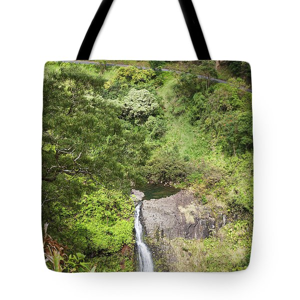 Hana Waterfall Tote Bag by Jenna Szerlag