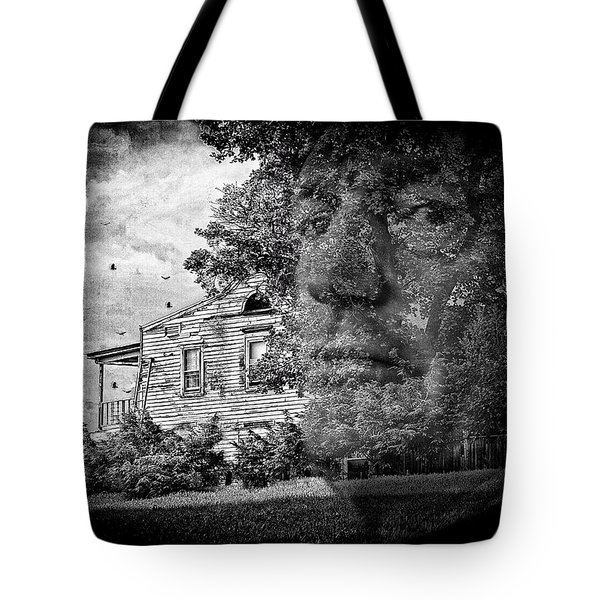 House On Haunted Hill Tote Bag by Madeline Ellis