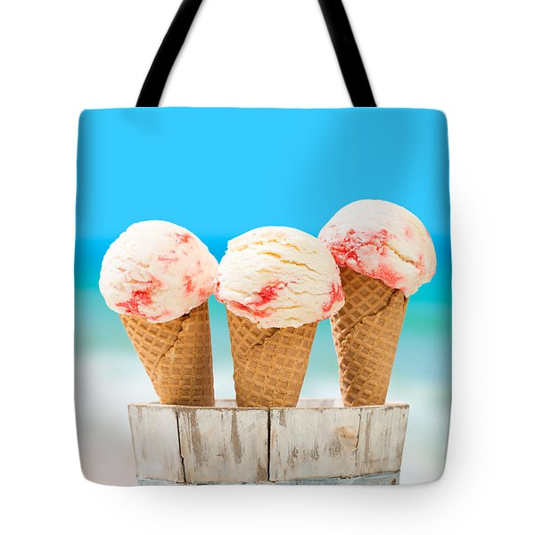 Ice Creams Tote Bag by Amanda And Christopher Elwell