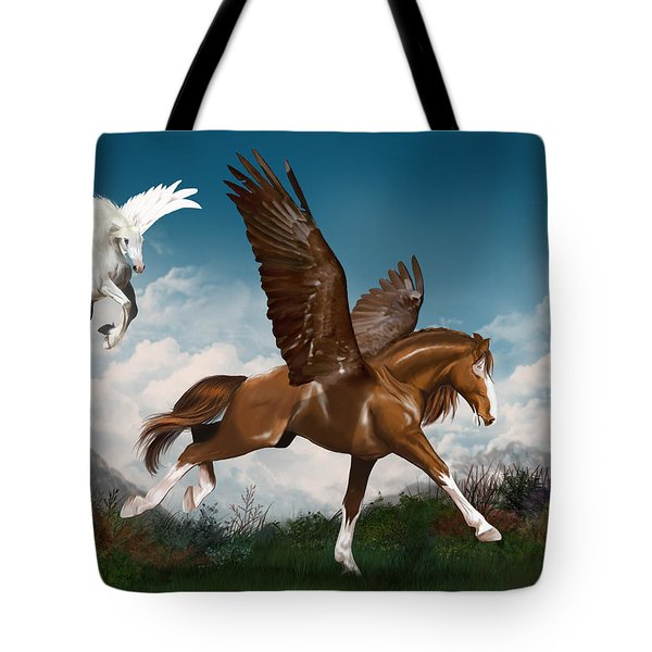 In A Hurry Tote Bag by Kate Black