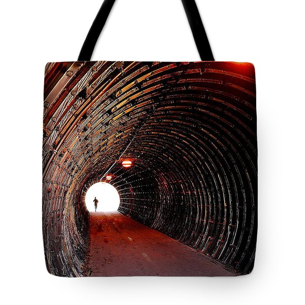 In The Spotlight Tote Bag by Frozen in Time Fine Art Photography