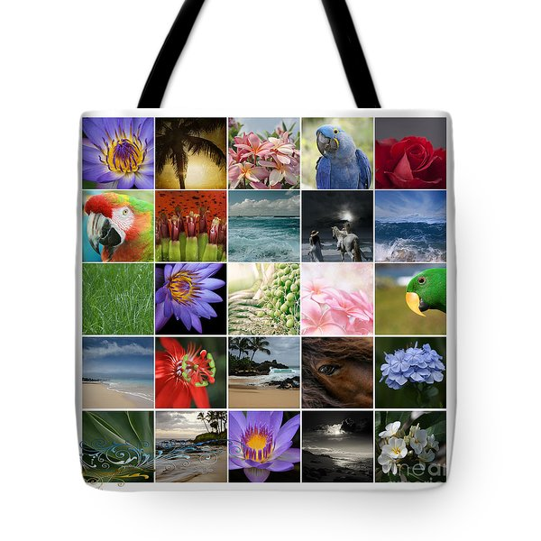 Journey Of Discovery Tote Bag by Sharon Mau