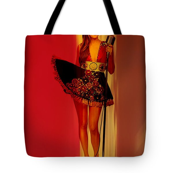 Kacey Musgraves  Tote Bag by Marvin Blaine