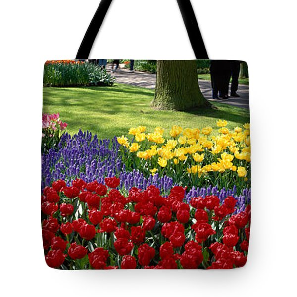 Keukenhof Garden, Lisse, The Netherlands Tote Bag by Panoramic Images