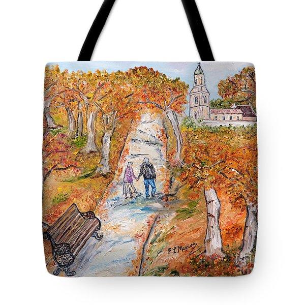 L'autunno della vita Tote Bag by Loredana Messina