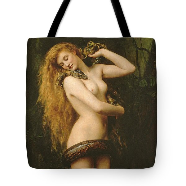 Lilith Tote Bag by John Collier