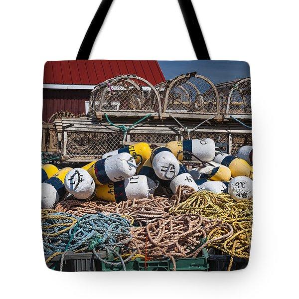 Lobster fishing Tote Bag by Elena Elisseeva
