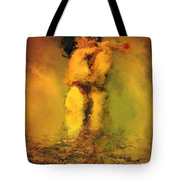 Lovers Tote Bag by Kurt Van Wagner