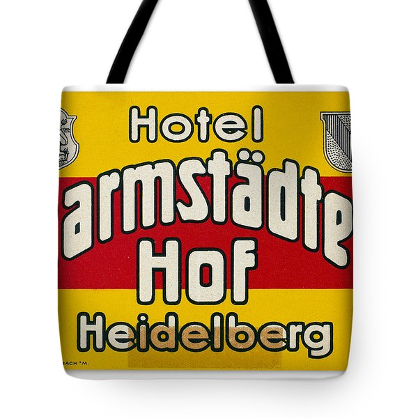 Luggage Label Tote Bag by Granger