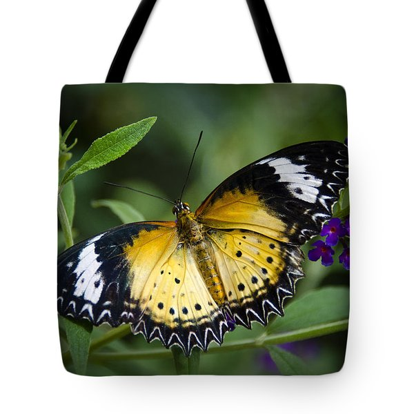 Malay Lacewing Butterfly  Tote Bag by Saija  Lehtonen