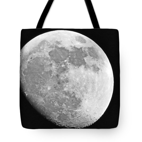 Man In The Moon Tote Bag by Tom Gari Gallery-Three-Photography