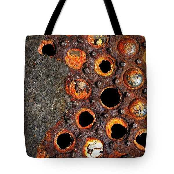 Matrix Tote Bag by Skip Hunt