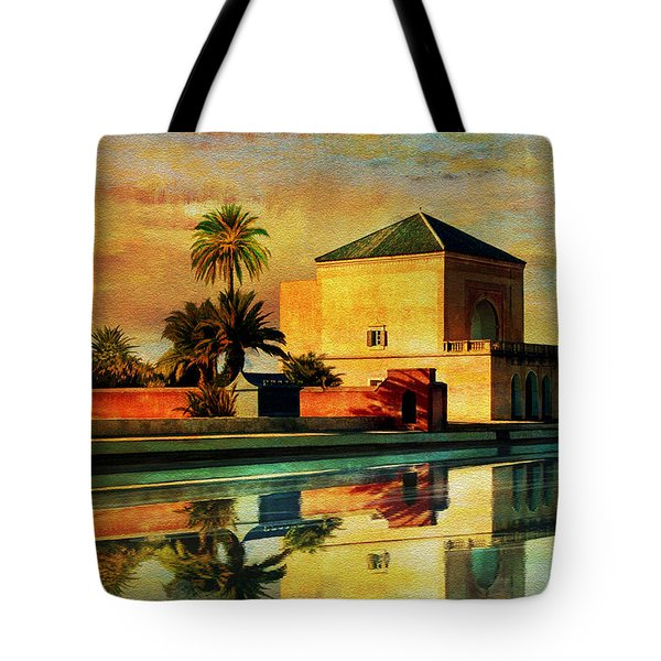 Medina of Marakkesh Tote Bag by Catf