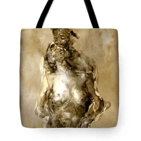 Melt Tote Bag by Kurt Van Wagner
