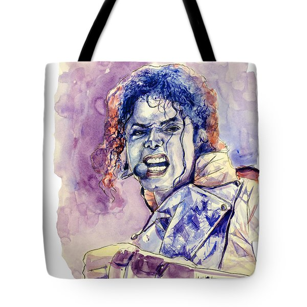 Michael Jackson Tote Bag by MB Art factory