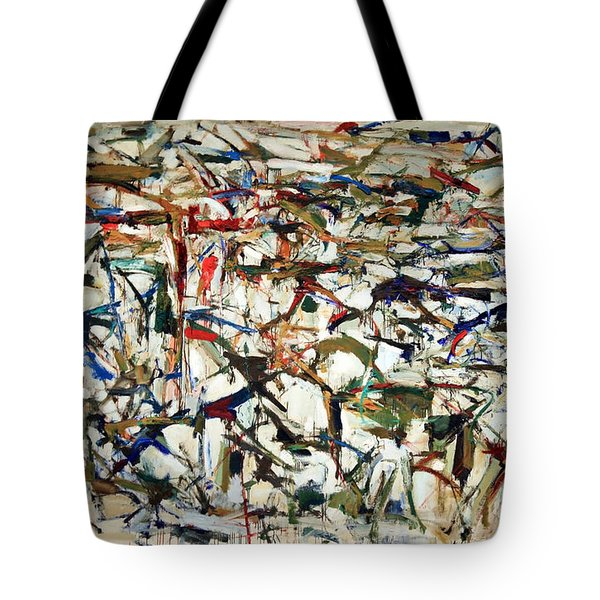 Mitchell's Piano Mecanique Tote Bag by Cora Wandel