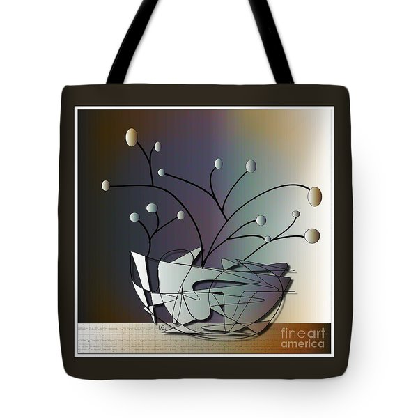 Mode Tote Bag by Iris Gelbart