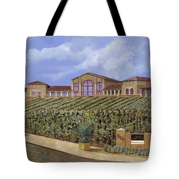 monte de Oro Tote Bag by Guido Borelli