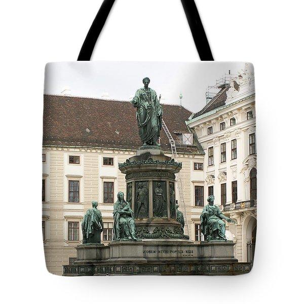 Monument Tote Bag by Evgeny Pisarev