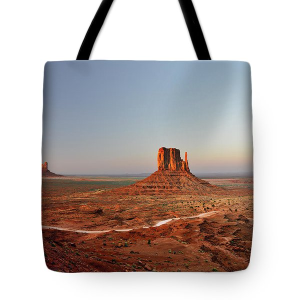 Monument Valley Tote Bag by Christine Till