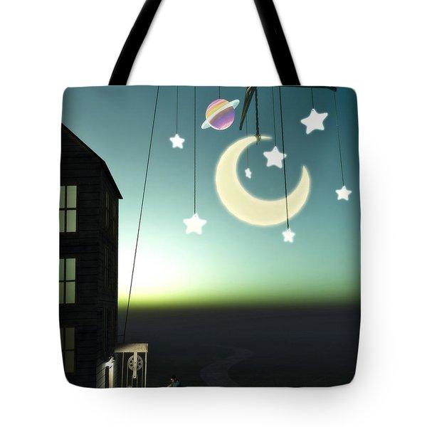 Moonrise Tote Bag by Cynthia Decker