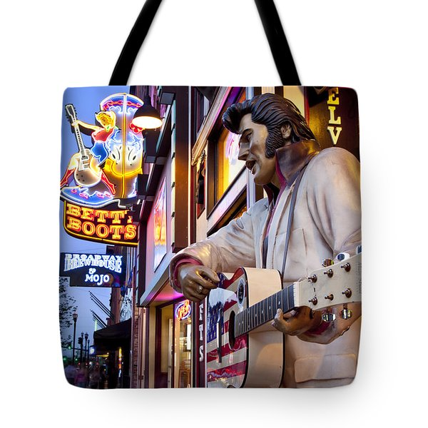 Music City USA Tote Bag by Brian Jannsen