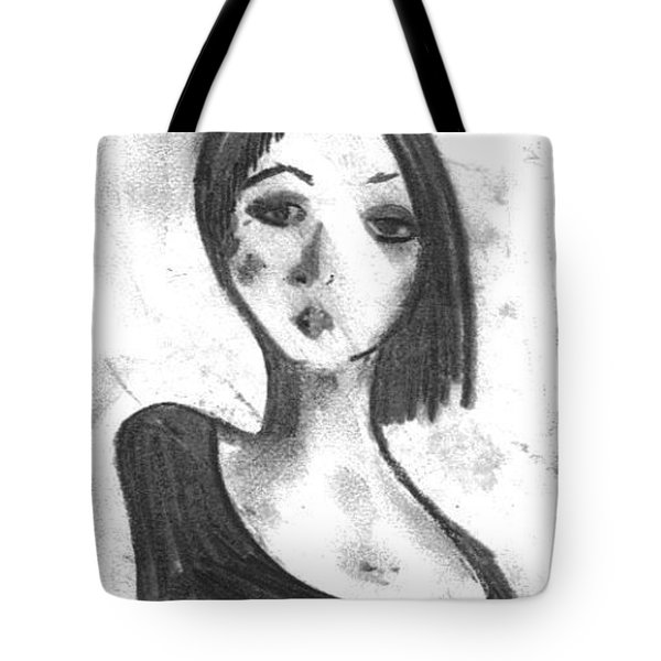 Nadia Tote Bag by Laurie D Lundquist
