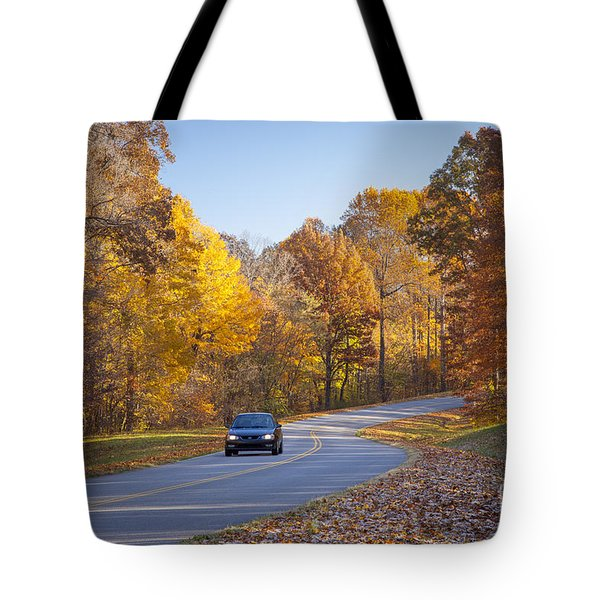 Natchez Trace Tote Bag by Brian Jannsen