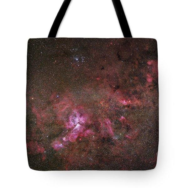 Ngc 3372, The Eta Carinae Nebula Tote Bag by Robert Gendler