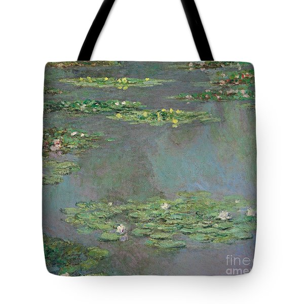 Nympheas Tote Bag by Claude Monet