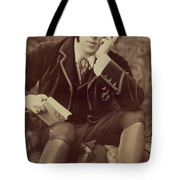 Oscar Wilde 1882 Tote Bag by Napoleon Sarony