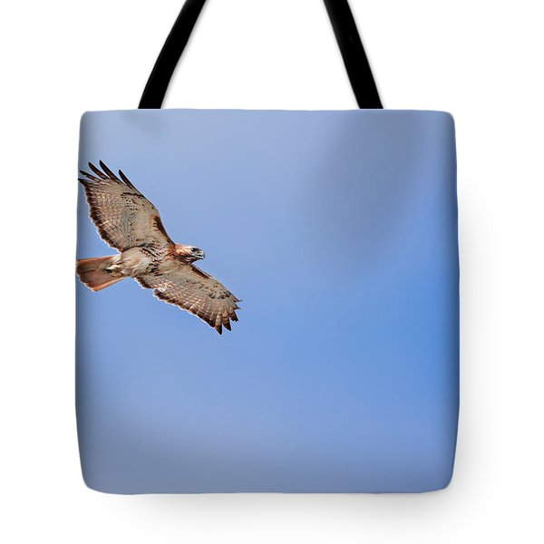 Out Of The Blue Tote Bag by Bill Wakeley