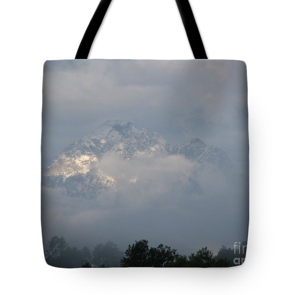 Out Of The Clouds Tote Bag by Greg Patzer