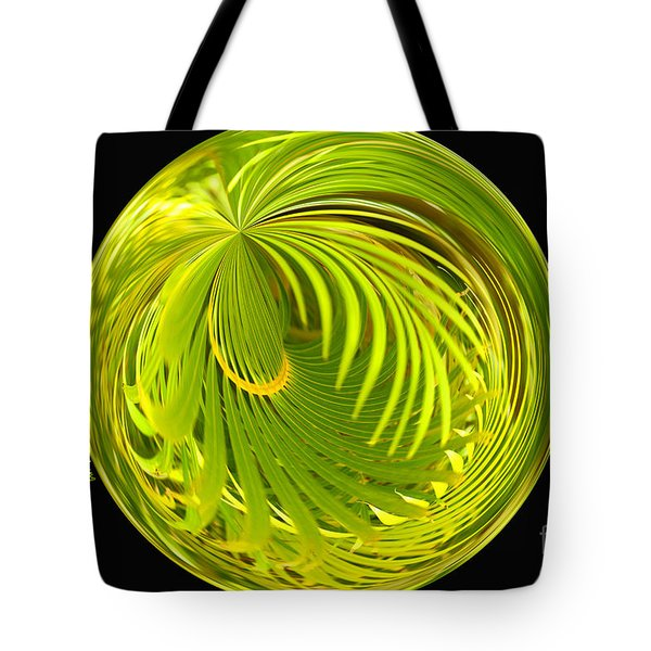 Palm Abstract Tote Bag by Cheryl Young
