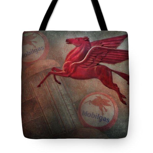 Pegasus Tote Bag by David and Carol Kelly
