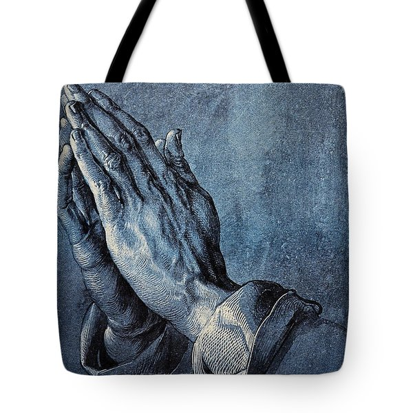 Praying Hands Tote Bag by Albrecht Durer