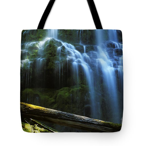Proxy Falls Oregon Tote Bag by Bob Christopher